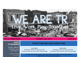 "City Newsletter (""We Are TR"")"