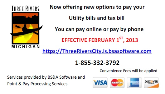 Now offering new options to pay your utility and tax bills