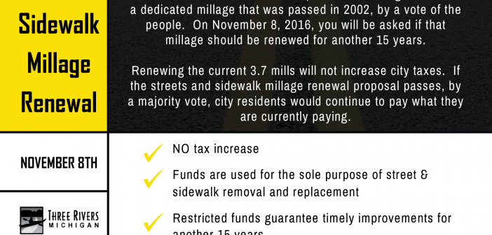 Municipal Streets Millage Renewal