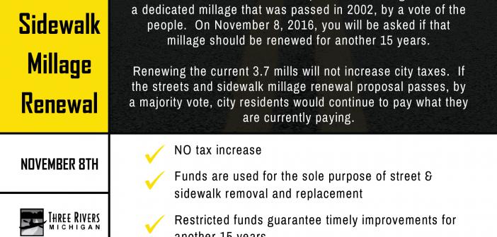 Municipal Streets Millage Renewal