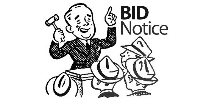 Bid Notice – CLOSED