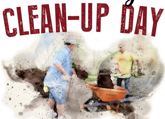 Clean-Up Day:  May 18