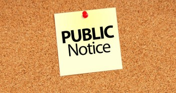 Notice – Ordinance 809