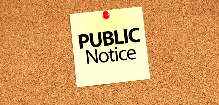 Public Notice – Grass and Noxious Weeds